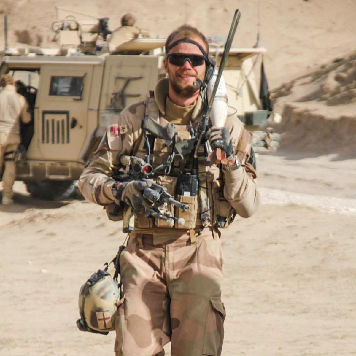 Veteran fra Afghanistan